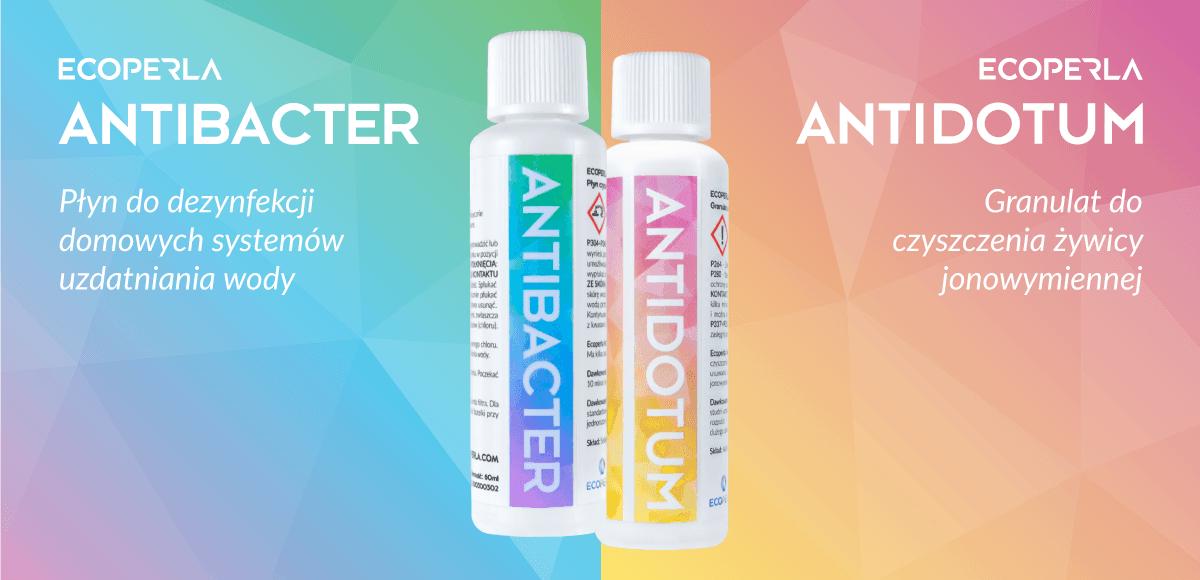 Ecoperla Antibacter i Ecoperla Antidotum