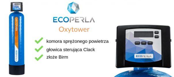 Ecoperla Oxytower - odżelazianie i odmanganianie z komorą sprężonego powietrza
